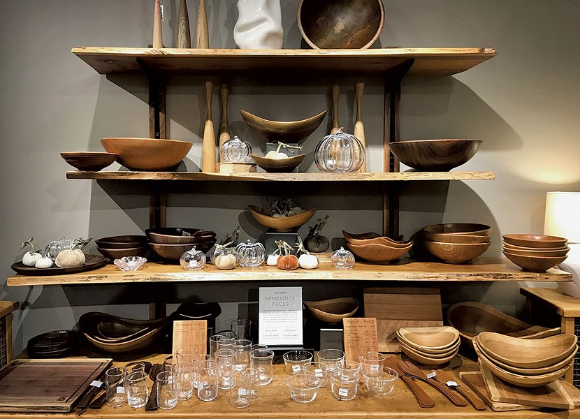 Housewares from Simon Pearce - SUZANNE M. PODHAIZER