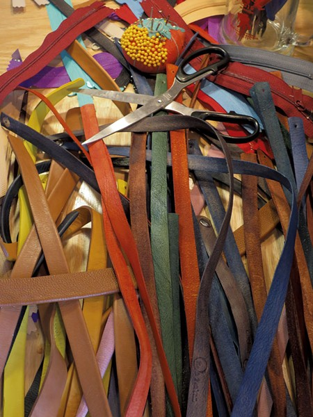 Colorful leather bits - MATTHEW THORSEN