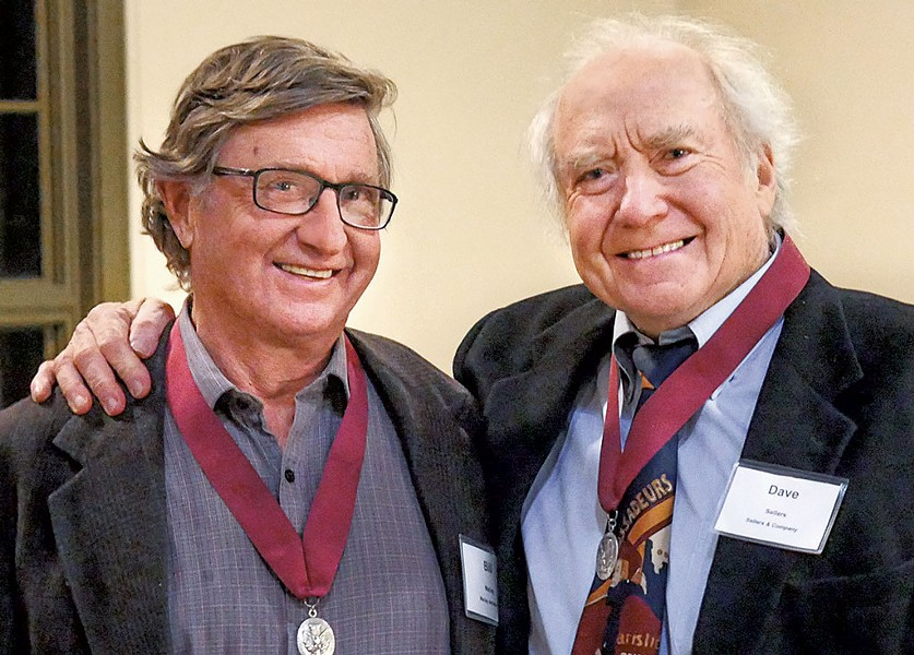 Bill Maclay (left) and David Sellers - PHOTO: CAROLYN BATES