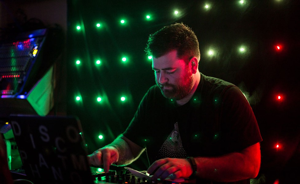 Brian Nagle, aka DJ Disco Phantom - COURTESY OF LUKE AWTRY PHOTOGRAPHY