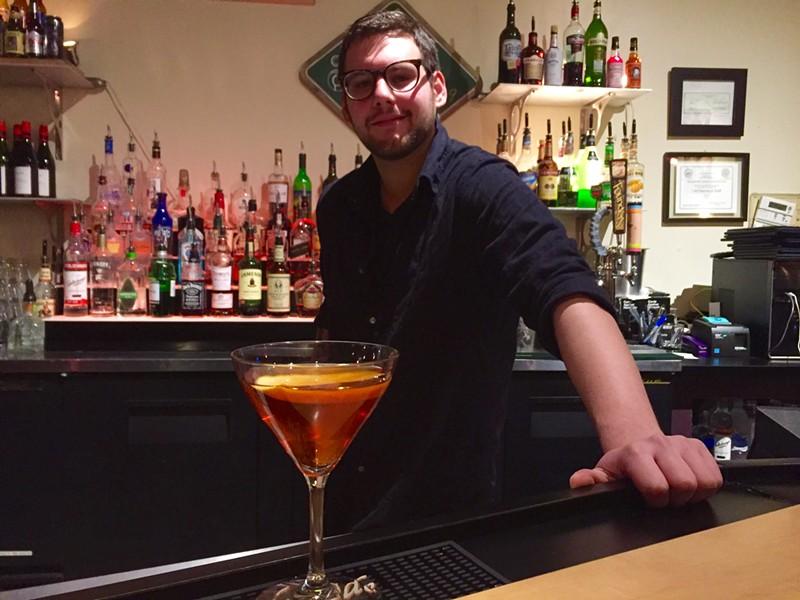 Isaac Steinzor at Drink - SA:LLY POLLAK
