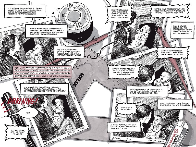 Pages 32 and 33 from Are You My Mother?: A Comic Drama - COURTESY OF NEW YORK: HOUGHTON MIFFLIN HARCOURT, 2012