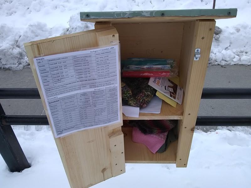 "A ""little box"" at Little Park in Burlington - KATIE JICKLING"