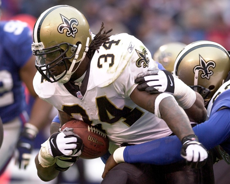 Ricky Williams in his playing days - JERRY COLLI/DREAMSTIME.COM