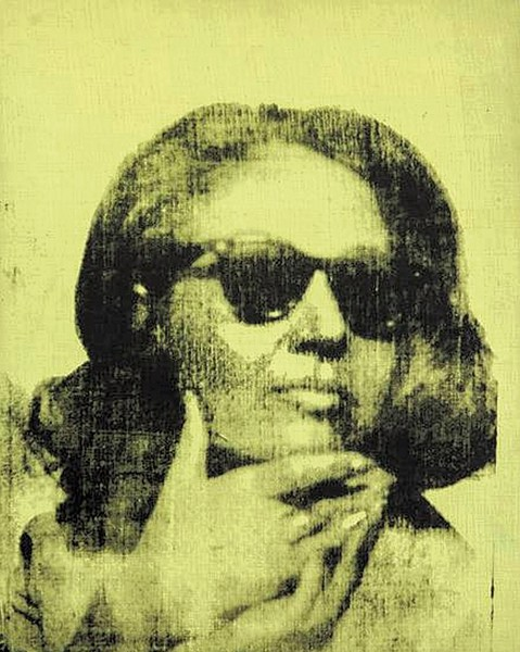 Portrait of Ethel Scull by Andy Warhol - HALLARTFOUNDATION.ORG