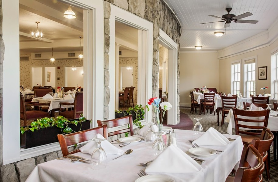 The dining room at the Residence at Shelburne Bay - COURTESY OF HEATHER PROHASKA