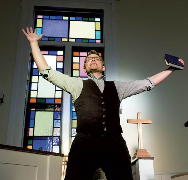 Andrew Butterfield as Pastor Paul - COURTESY OF PETER LOURIE