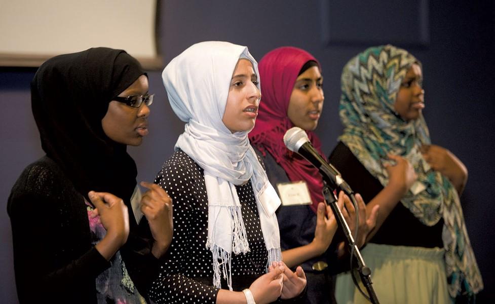 Muslim Girls Making Change - COURTESY OF ALISON REDLICH