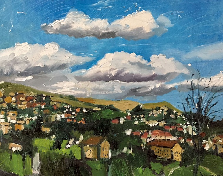 "Tatiana Yakusheva, ""Clouds in the Mountains"