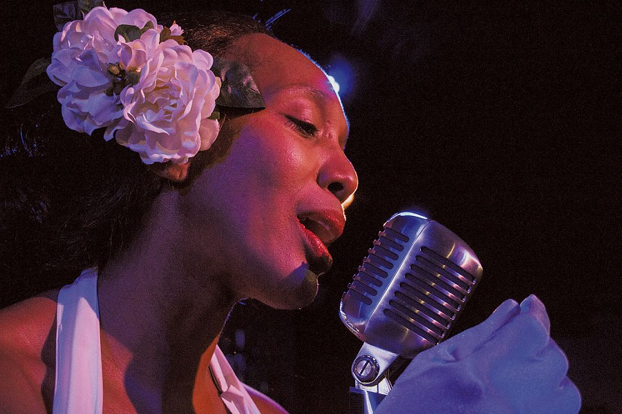 Francesca Harper as Billie Holiday - COURTESY OF JAG PRODUCTIONS