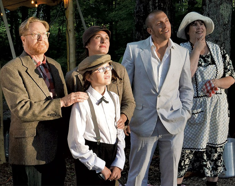 The cast of It Can't Happen Here - COURTESTY OF LINDA TREASH