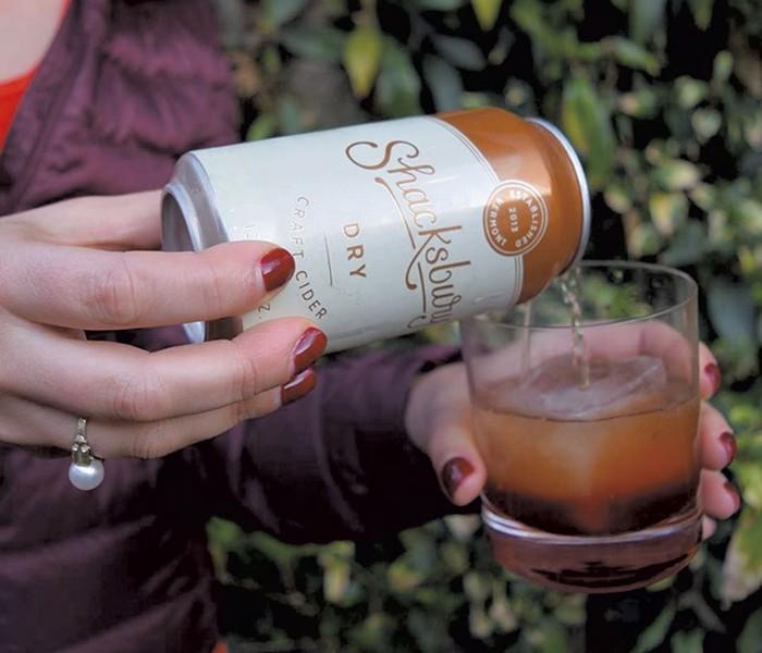 Shacksbury Dry Craft Cider - COURTESY OF SHACKSBURY