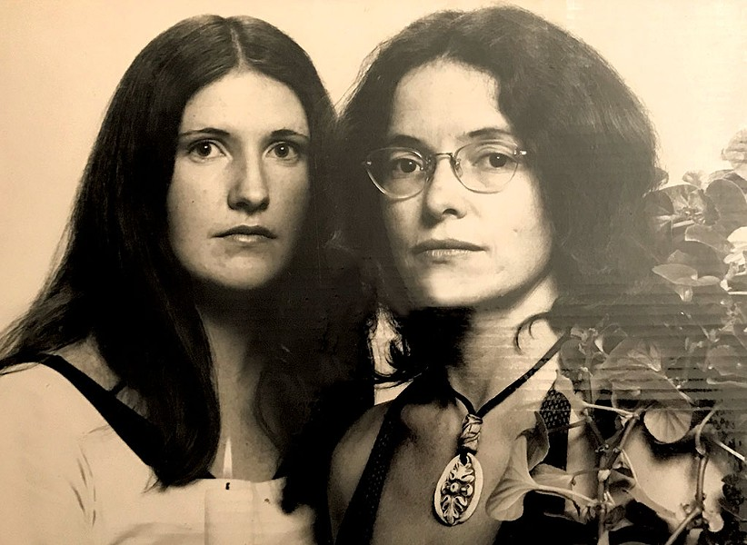 Doreen Kraft (left) and Robin Lloyd - COURTESY OF JESSE LLOYD GUMA