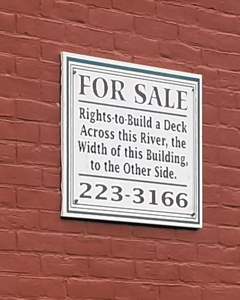 """Detail of the """"for sale"""" sign - KEN PICARD"""