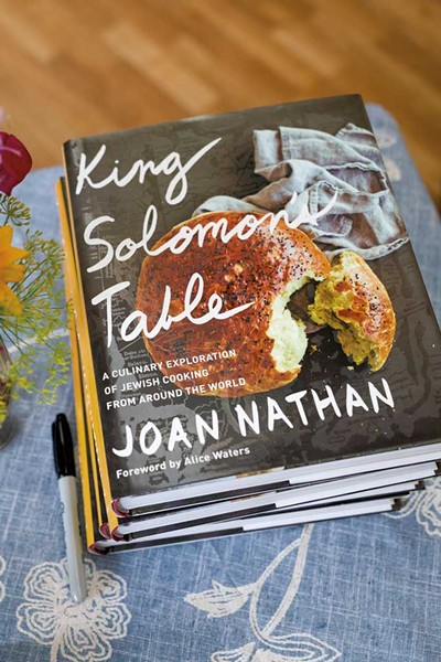 King Solomon's Table: A Culinary Exploration of Jewish Cooking From Around the World by Joan Nathan, Knopf, 416 pages. $35 hardcover.