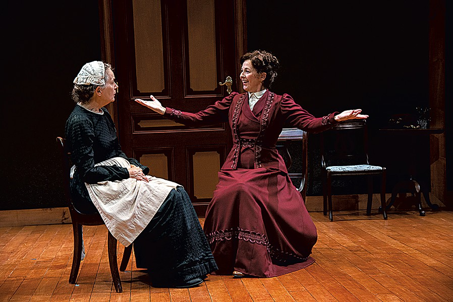 Lizbeth Mackay (left) and Kathleen McNenny - COURTESY OF HUBERT SCHRIEBL