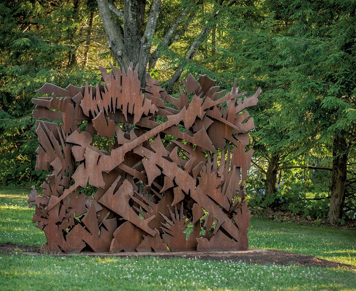 """""""Interlace"""" by Albert Paley - PHOTOS COURTESY OF HELEN DAY ART CENTER/PAUL ROGERS PHOTOGRAPHY"""