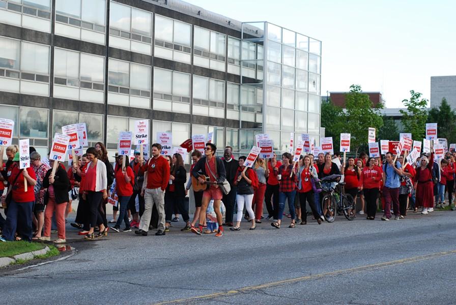 Nurses on strike - FILE: SARA TABIN