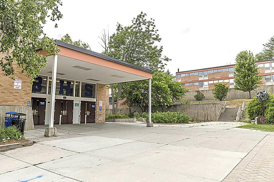 Burlington High School - FILE: OLIVER PARINI