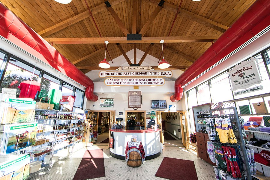 Cabot Creamery Visitor Center, Cabot - COURTESY OF CABOT CREAMERY