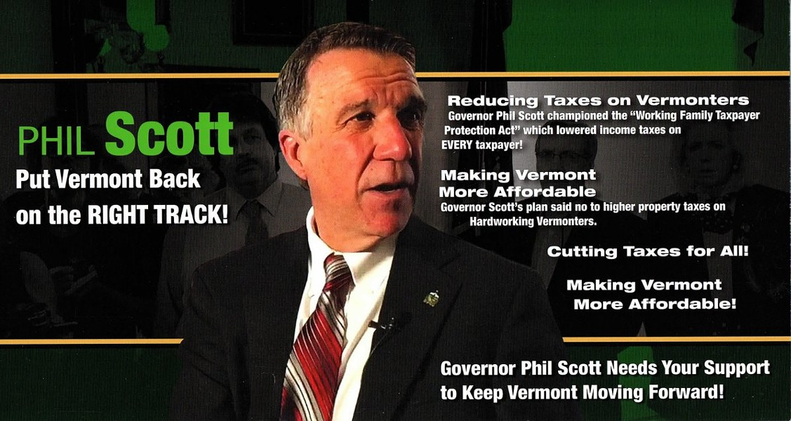 A Stronger Vermont's mailer - PROVIDED
