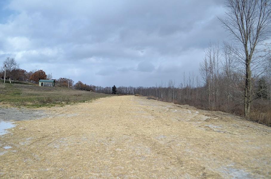 The proposed runway - SASHA GOLDSTEIN