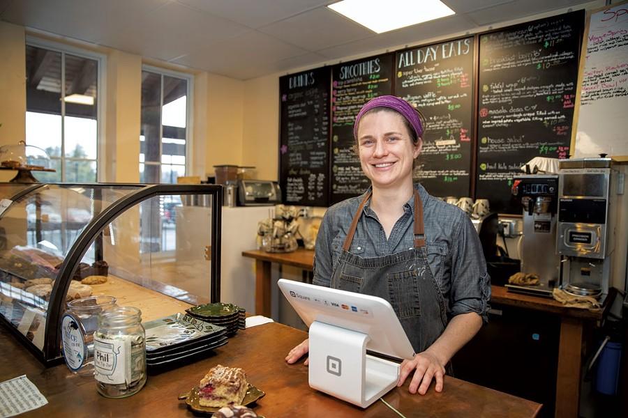 Bhava Carr at Sweet Alchemy Bakery and Café - JAMES BUCK