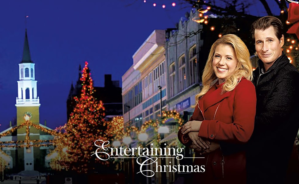 Jodie Sweetin and Brendan Fehr in Entertaining Christmas