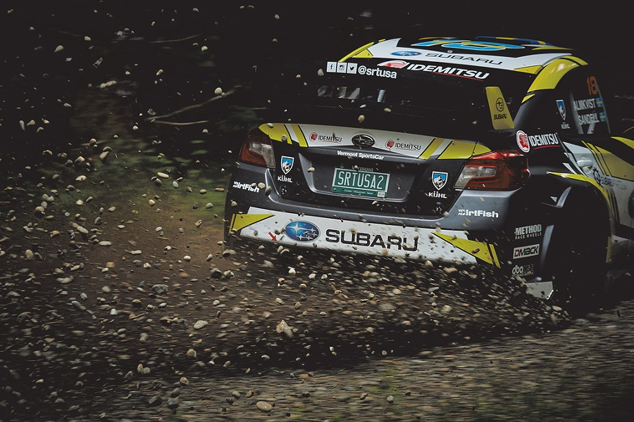 COURTESY OF VERMONT SPORTSCAR AND SUBARU RALLY TEAM USA