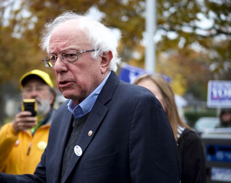 Sen. Bernie Sanders - SOPHIE MACMILLAN