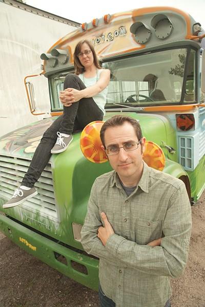 Natalie Miller and Nathan Hartswick - MATTHEW THORSEN