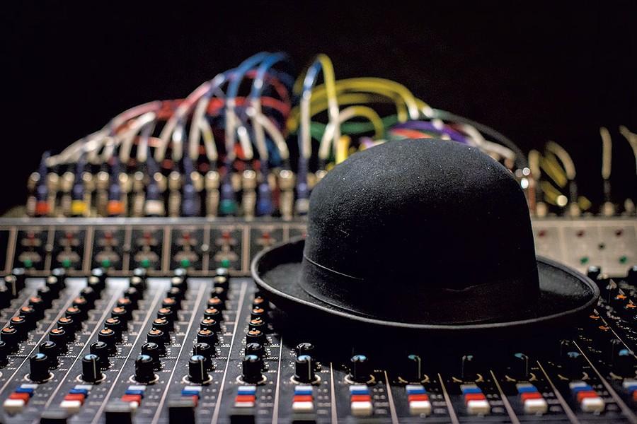 Charlie Morrow's signature hat - LUKE AWTRY