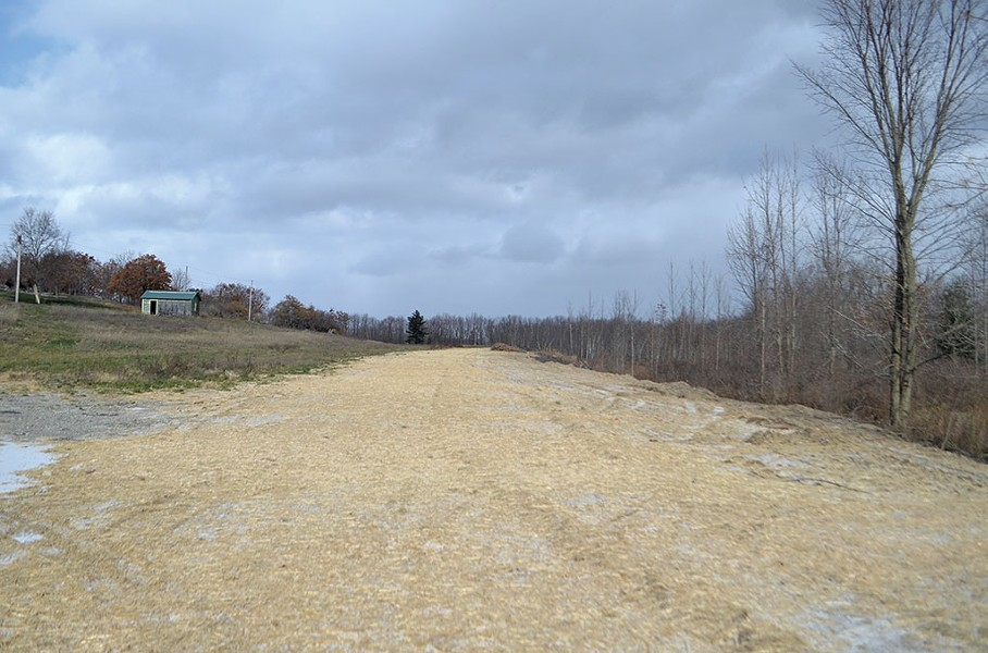 The proposed runway - FILE: SASHA GOLDSTEIN