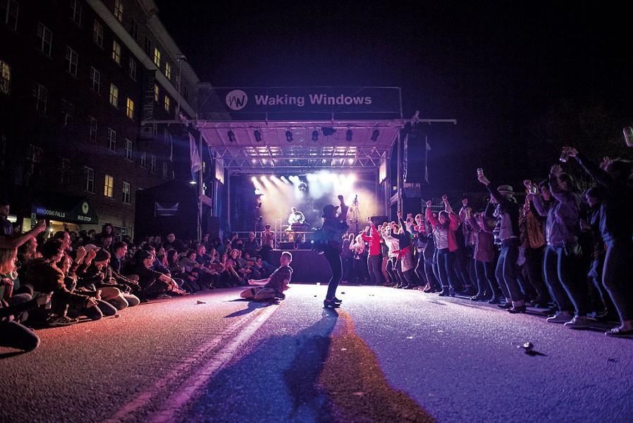 2018 Waking Windows dance-off - COURTESY OF BRITT SHORTER