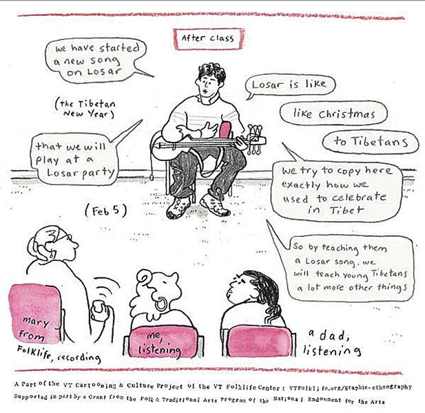 "A panel from ""Almanac"" by Iona Fox - IONA FOX"