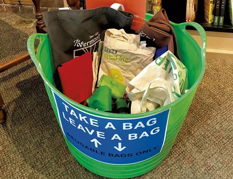 The bag exchange - COURTESY OF JENNY LYONS