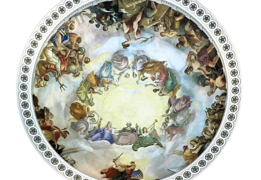 """The Apotheosis of Washington"""