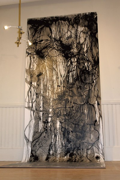"""Weeping Willow"" by Misoo - COURTESY OF NEW CITY GALERIE"