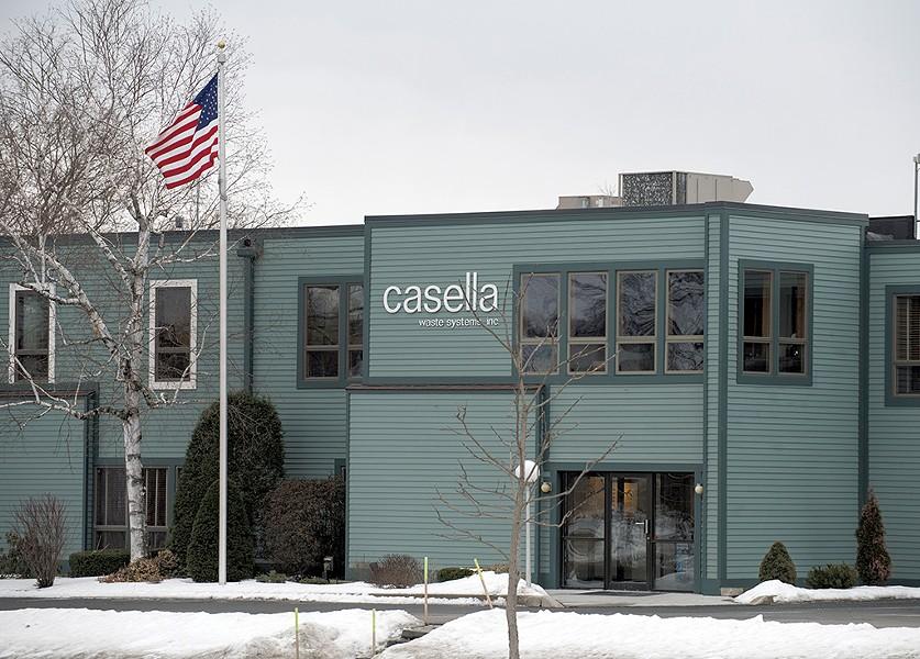 Casella headquarters in Rutland - CALEB KENNA