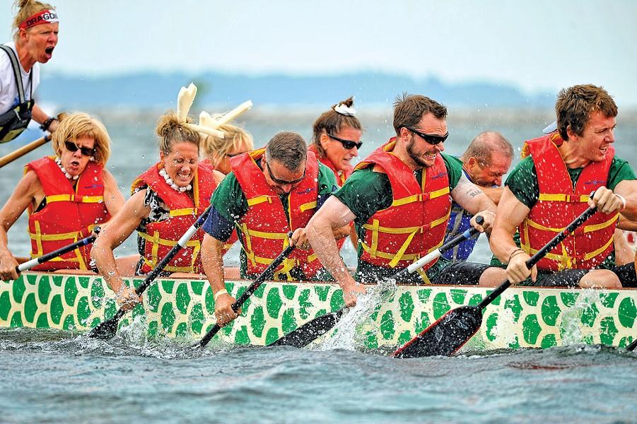Lake Champlain Dragon Boat Festival - COURTESY OF DRAGONHEART VERMONT