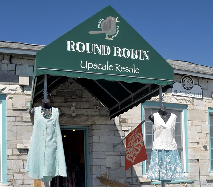 Round Robin Upscale Resale in Middlebury