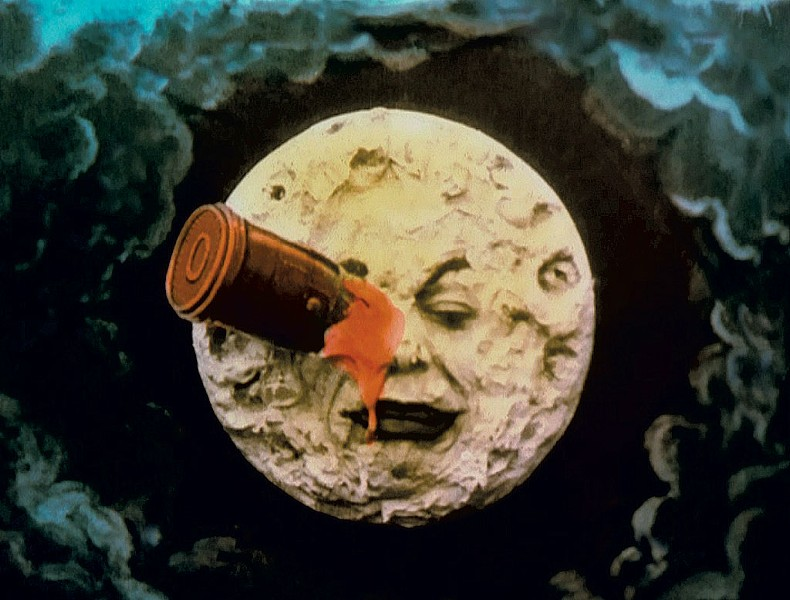 "Still from ""A Trip to the Moon"" by Georges Méliès"