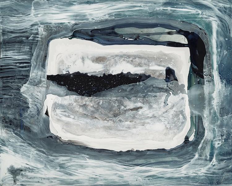 """""""Winter Window"""" by Elizabeth Nelson - COURTESY OF 77 GALLERY"""
