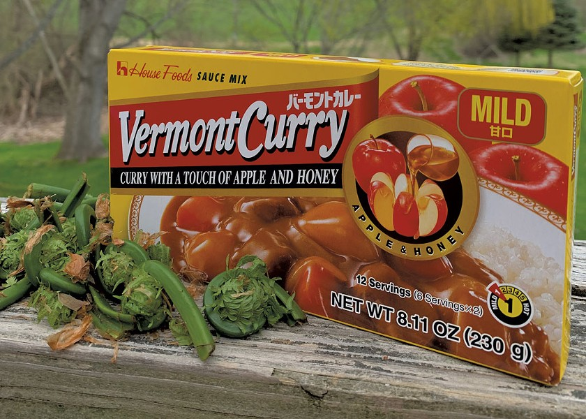 House Foods' Vermont Curry - DAN BOLLES