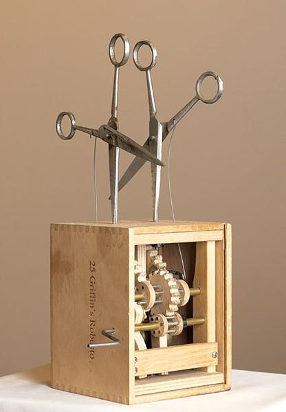 A scissor automaton - DON WHIPPLE