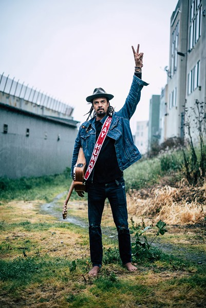 Michael Franti - COURTESY OF ANTHONY THOEN