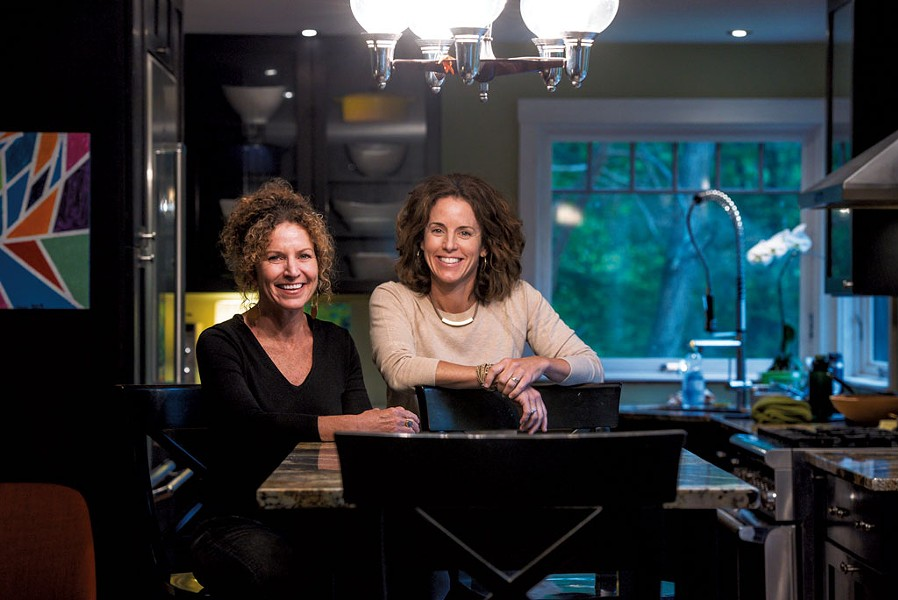 Claire Mahoney (left) and Marlene Simson - GLENN RUSSELL