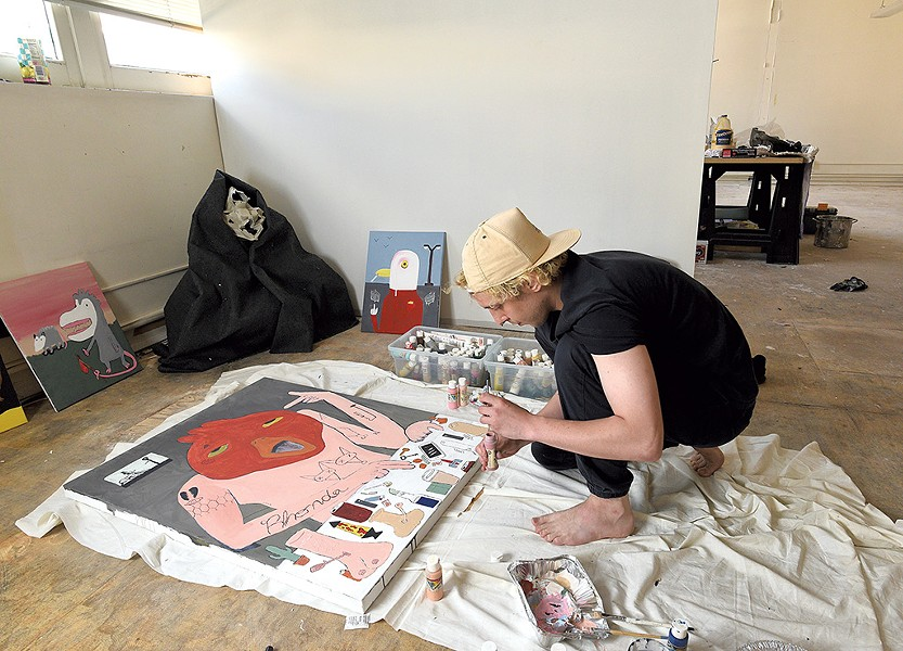 Rutland artist Ben Leber - JON OLENDER