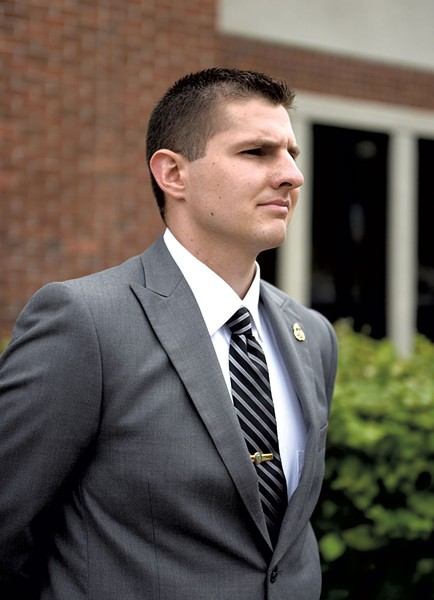 Ryan Palmer - COURTESY OF JENNIFER HAUCK/VALLEY NEWS