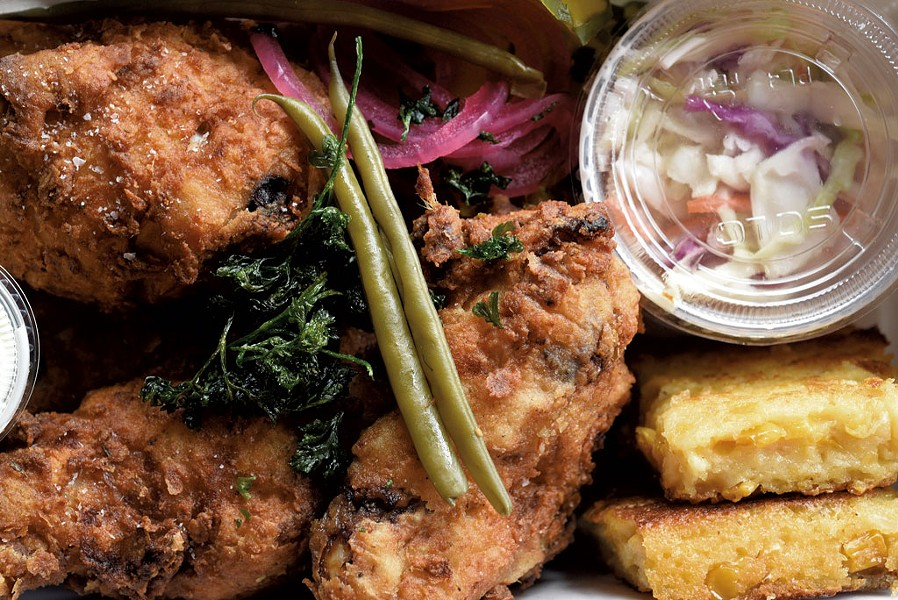 Fried chicken box at Canteen Creemee Company - JEB WALLACE-BRODEUR